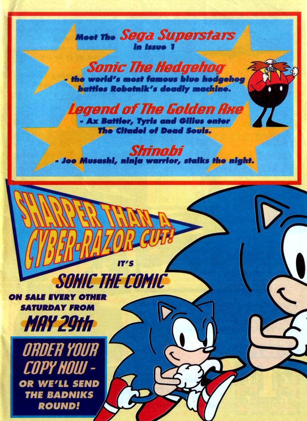 Sonic the Comic Preview Special Page 6
