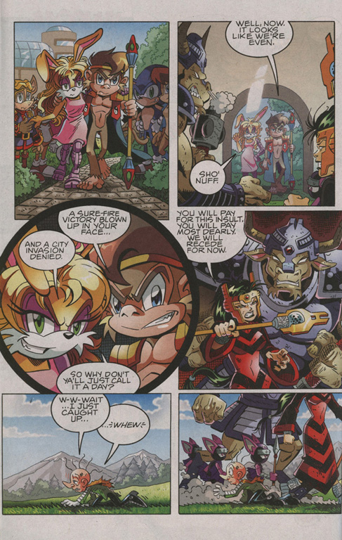Sonic - Archie Adventure Series January 2010 Page 14