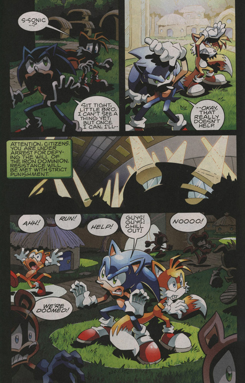 Sonic - Archie Adventure Series March 2010 Page 8