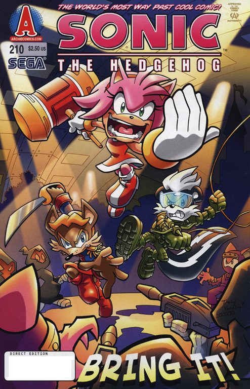 Sonic - Archie Adventure Series May 2010 Comic cover page