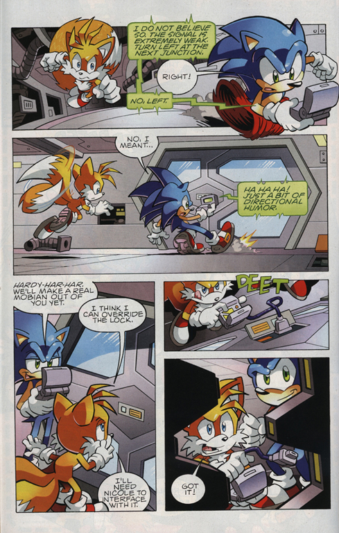 Sonic - Archie Adventure Series July 2010 Page 15