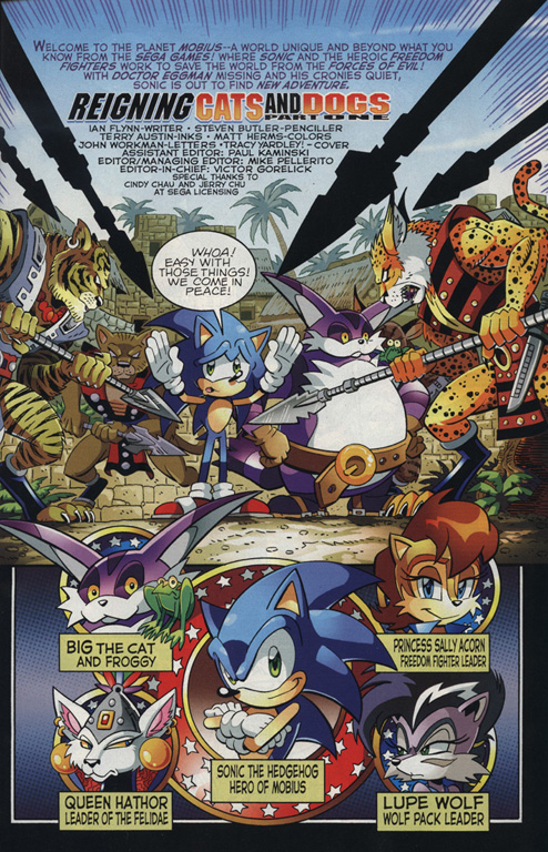Sonic - Archie Adventure Series August 2010 Page 1