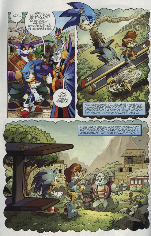 Sonic - Archie Adventure Series August 2010 Page 4