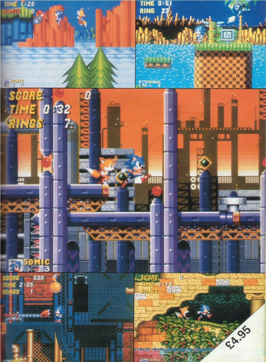 Sonic the Hedgehog Yearbook 1991 Page 2