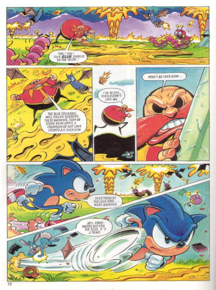 Sonic the Hedgehog Yearbook 1991 Page 11