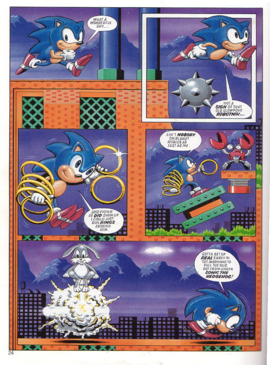 Sonic the Hedgehog Yearbook 1991 Page 23