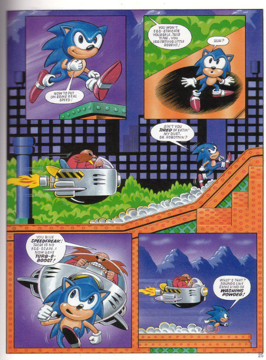 Sonic the Hedgehog Yearbook 1991 Page 24