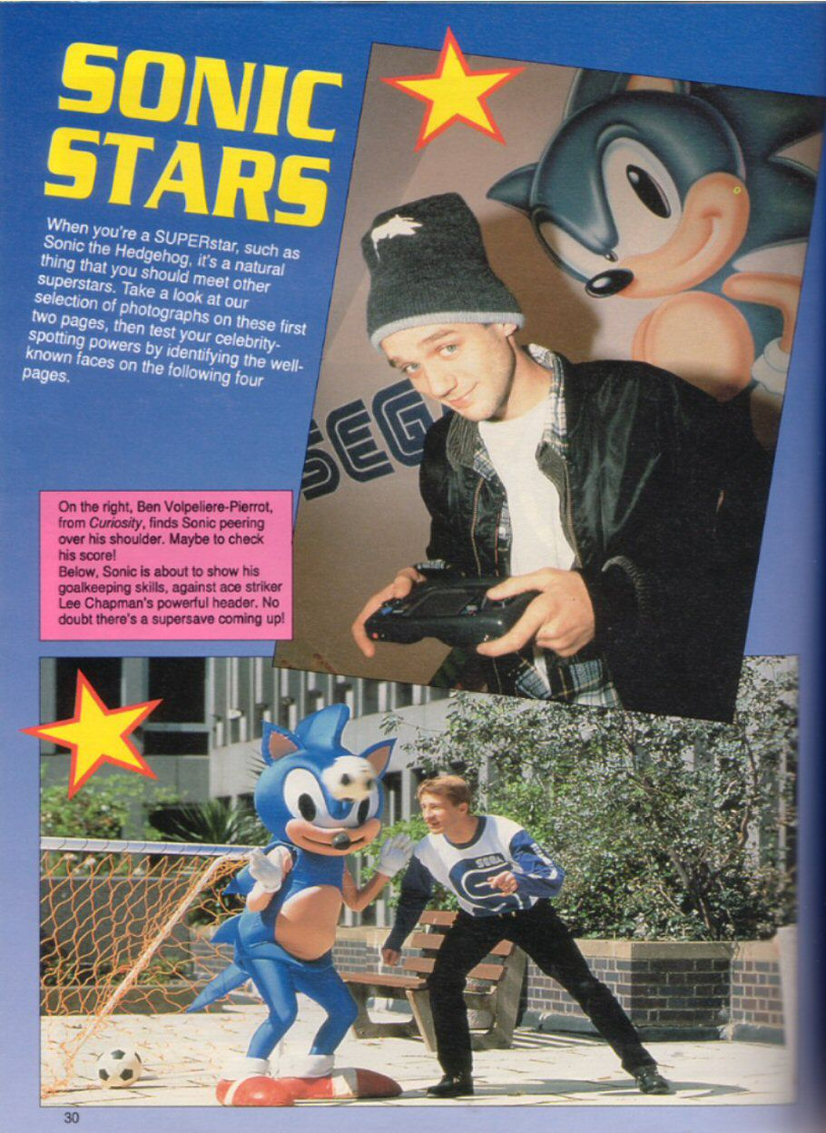 Sonic the Hedgehog Yearbook 1991 Page 29
