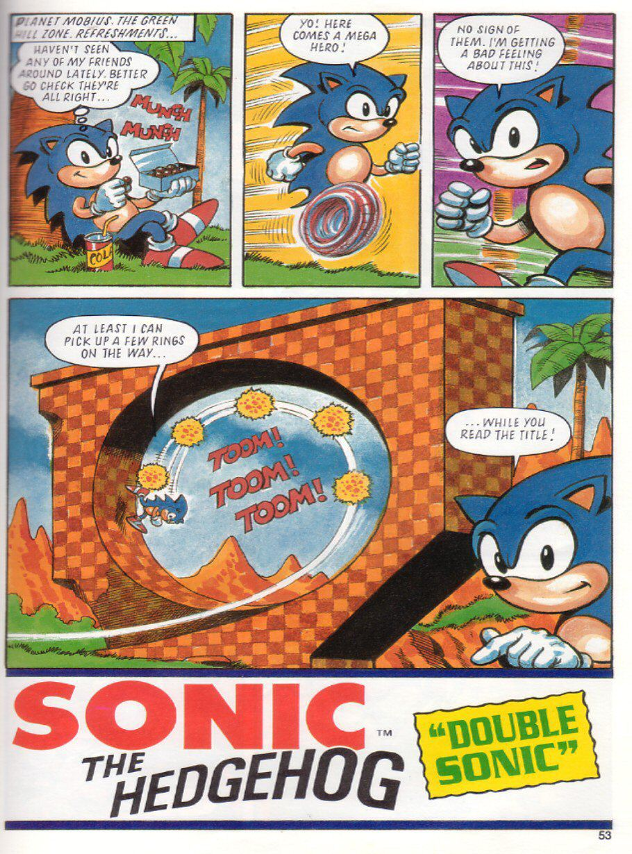 Page 49 Sonic The Hedgehog Yearbook 1991 Emuparadise Org