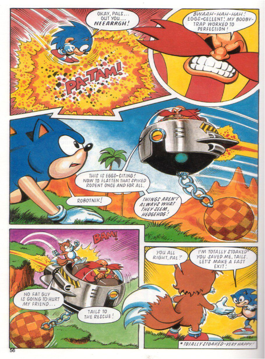 Sonic the Hedgehog Yearbook 1991 Page 52