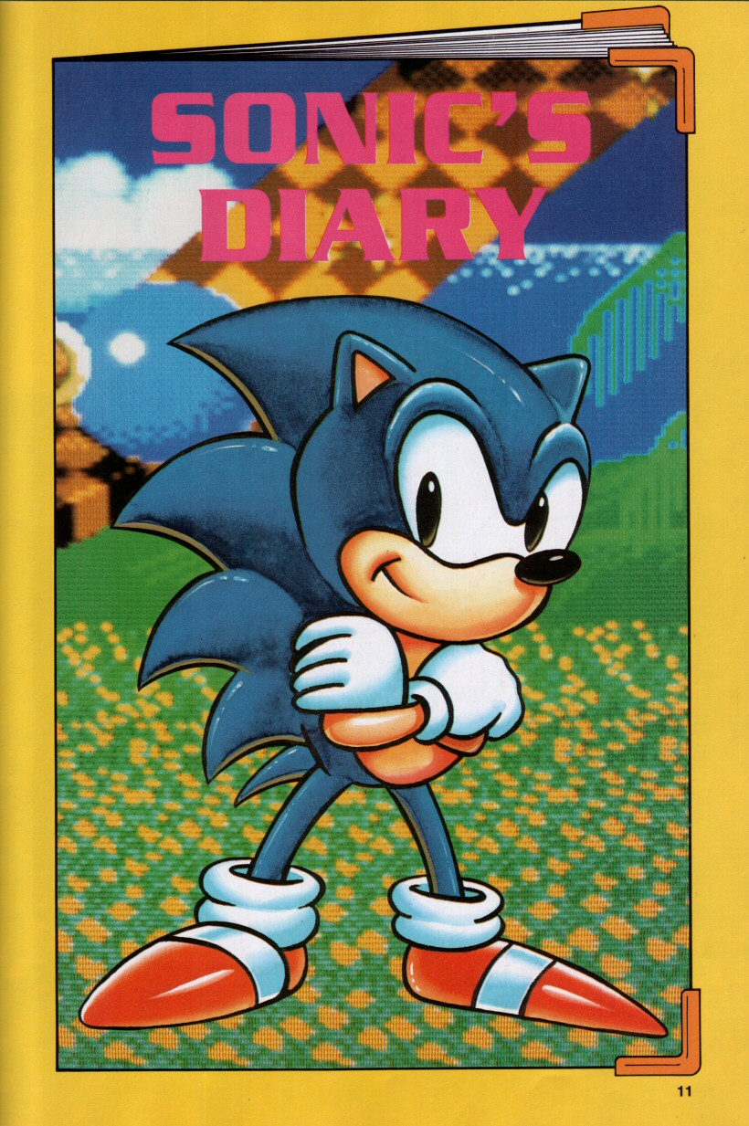 Sonic the Hedgehog Yearbook 1992 Page 7
