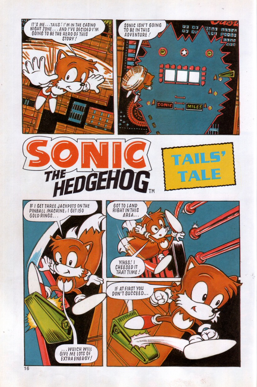 Sonic the Hedgehog Yearbook 1992 Page 12