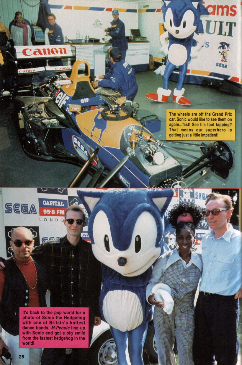 Sonic the Hedgehog Yearbook 1992 Page 22