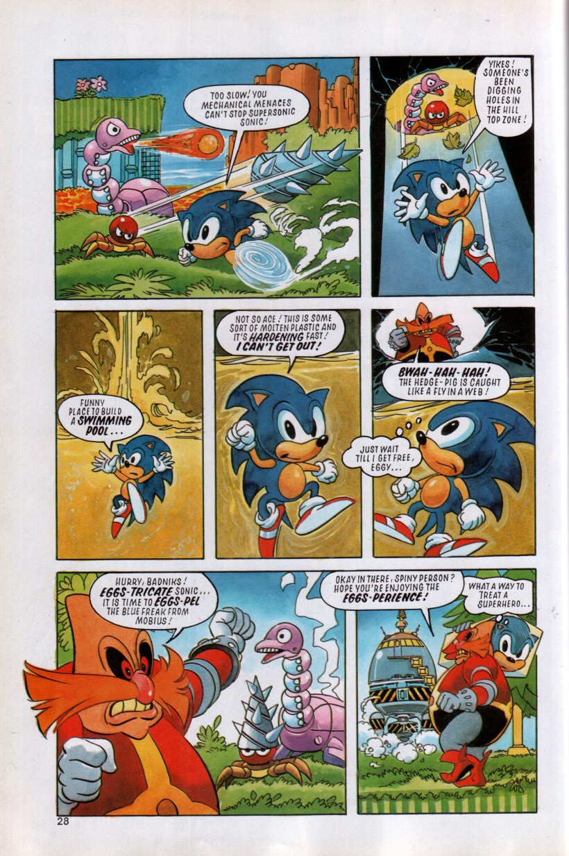 Sonic the Hedgehog Yearbook 1992 Page 24