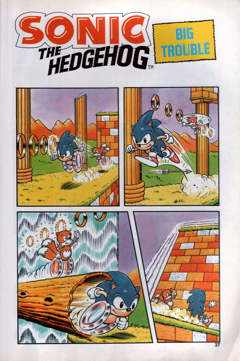 Sonic the Hedgehog Yearbook 1992 Page 33