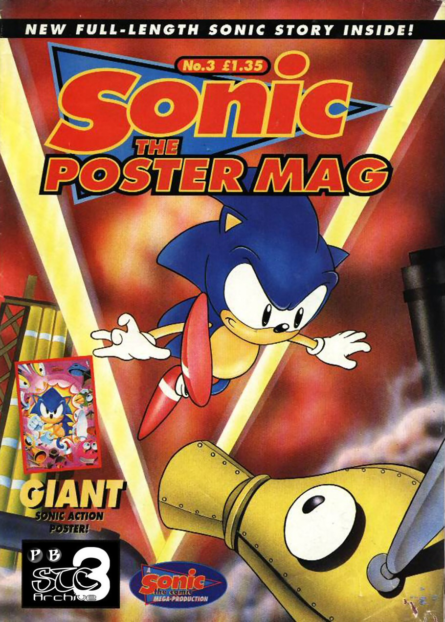 Sonic the Poster Mag - Issue #03 Comic cover page