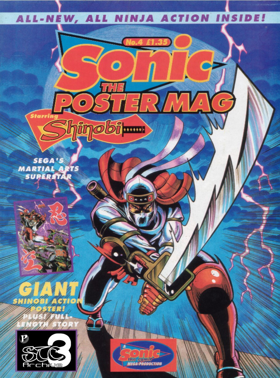 Sonic the Poster Mag - Issue #04 Comic cover page