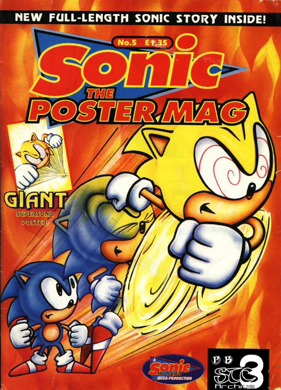 Sonic the Poster Mag - Issue #05 Comic cover page