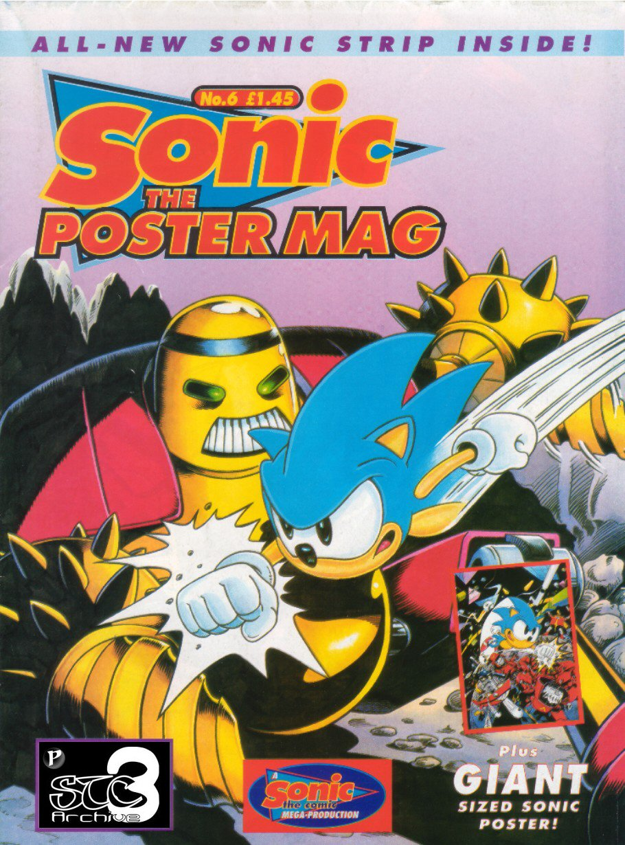Sonic the Poster Mag - Issue #06 Comic cover page
