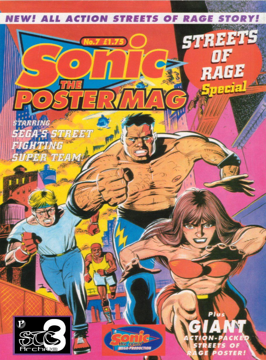 Sonic the Poster Mag - Issue #07 Comic cover page