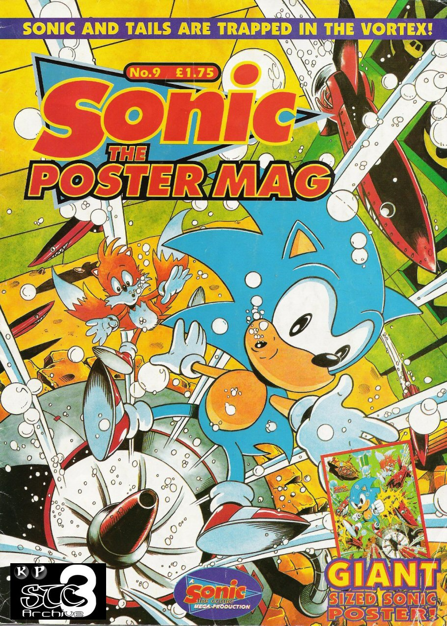 Sonic the Poster Mag - Issue #09 Comic cover page