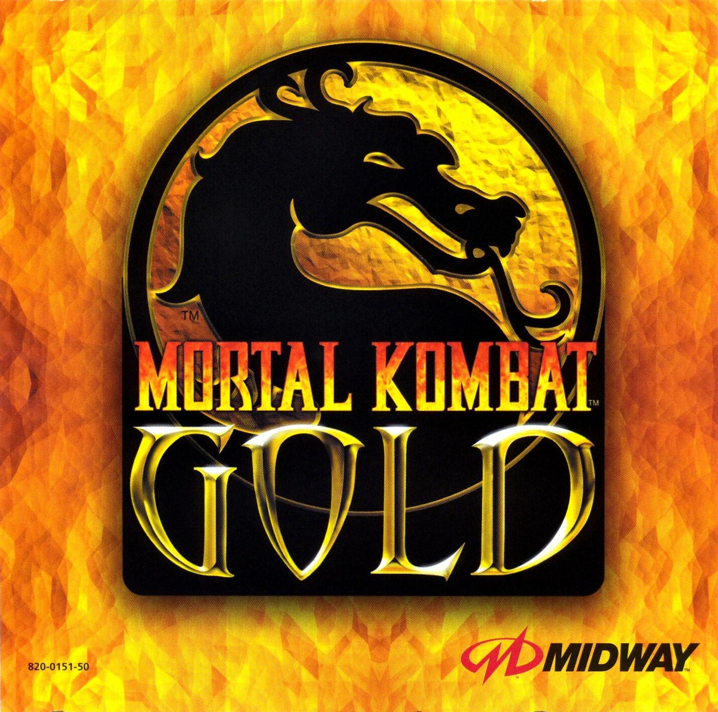 Mortal Kombat Gold (PAL) [DC] + Emulador [MU]