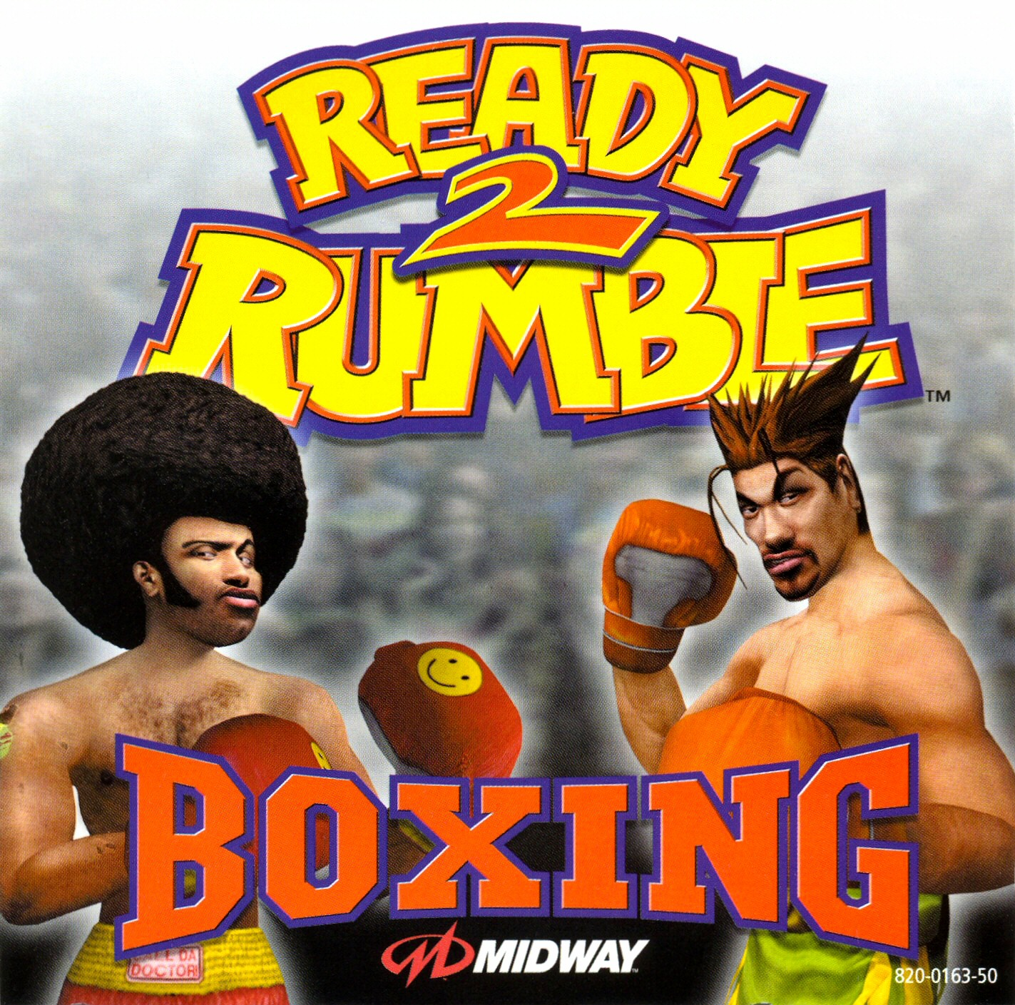 Ready 2 Rumble Boxing (PAL) Front Cover - Click for full size image