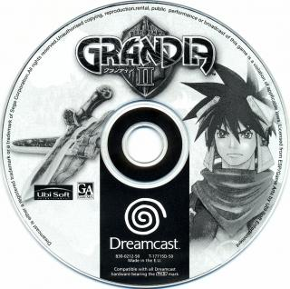 Grandia II (PAL) CD Scan - Click for full size image