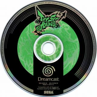 Jet Set Radio (PAL) CD Scan - Click for full size image