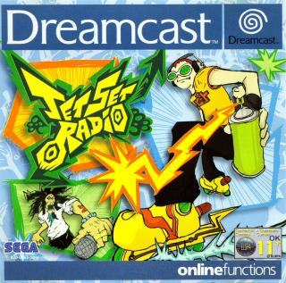 Jet Set Radio (PAL) Front Cover - Click for full size image