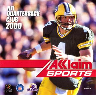NFL Quarterback Club 2000 (PAL) Front Cover - Click for full size image