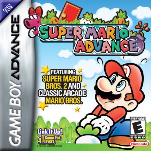 Super Mario Advance (U)(Eurasia) Box Art