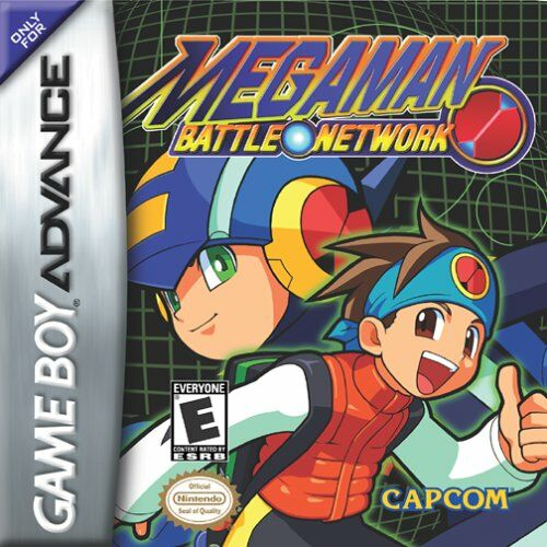 MegaMan Battle Network (U)(Venom) Box Art