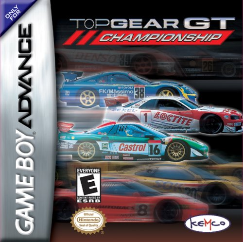 Top Gear GT Championship (U)(Independent) Box Art