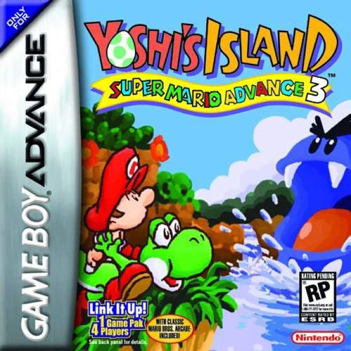 Yoshi's Island - Super Mario Advance 3 (U)(Mode7) Box Art