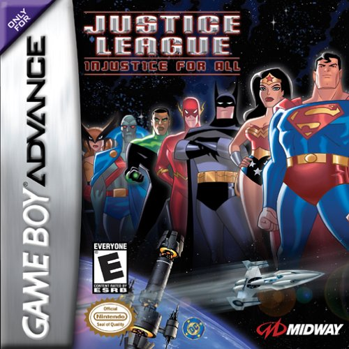 Justice League - Injustice for All (U)(Eurasia) Box Art