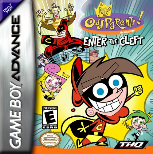 The Fairly OddParents - Enter The Cleft (U)(Mode7) Box Art