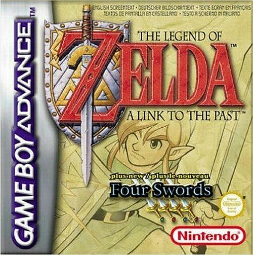 The Legend Of Zelda - A Link To The Past (E)(Cezar) Box Art