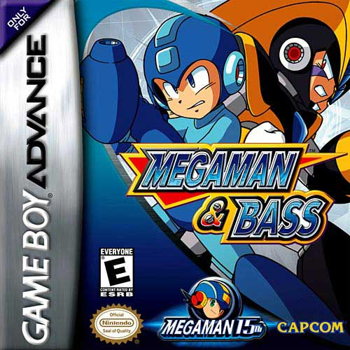 MegaMan & Bass (U)(Venom) Box Art