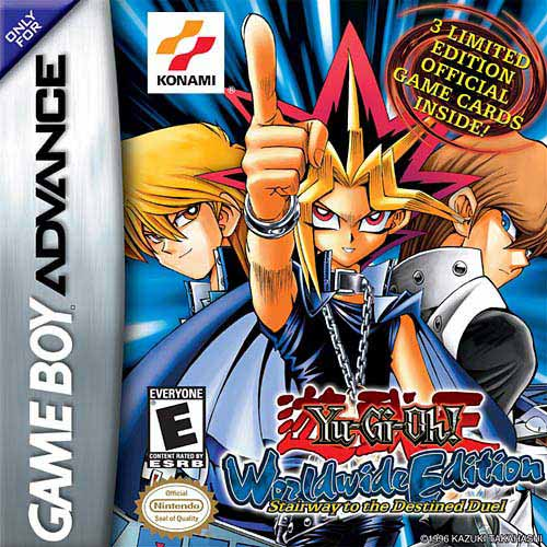 Yu-Gi-Oh! Worldwide Edition (U)(RDG) Box Art