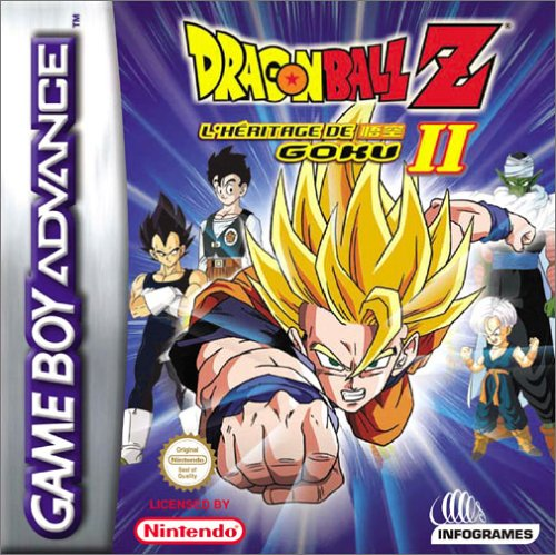 Dragon Ball Z - The Legacy of Goku II (E)(Eurasia) Box Art