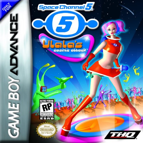 Space Channel 5 - Ulala's Cosmic Attack (U)(Mode7) Box Art
