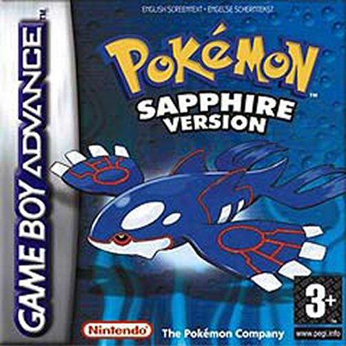 Pokemon Sapphire (E)(Independent) Box Art