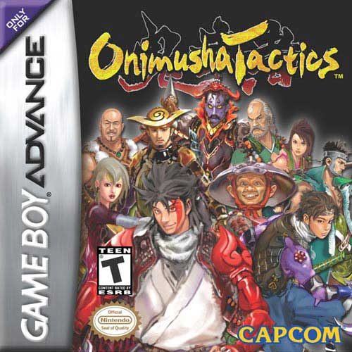 Onimusha Tactics (U)(Mode7) Box Art
