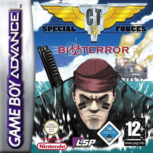 CT Special Forces 3 : Bioterror GBA