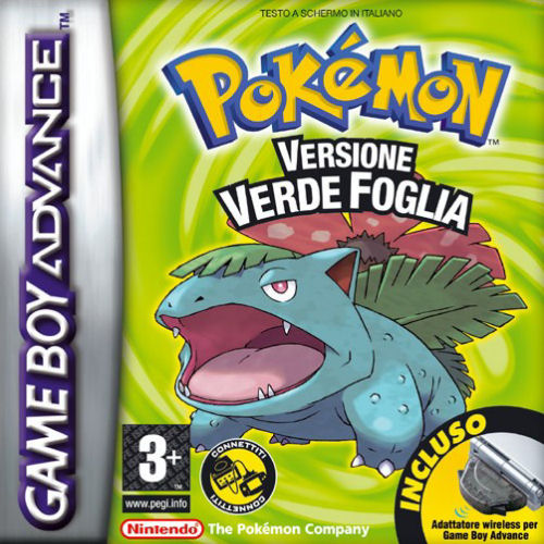 Pokemon Verde Foglia (I)(Independent) Box Art