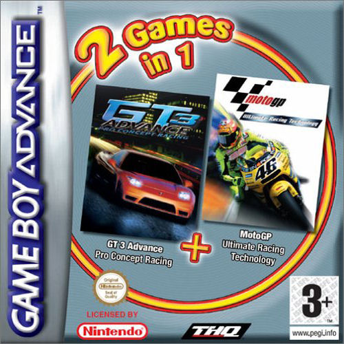 Moto GP & GT Advance 3 Double Pack (E)(Independent) ROM