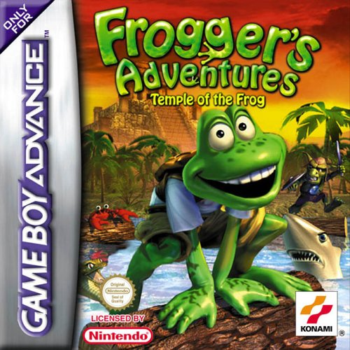 Frogger's Adventures - Temple of the Frog (E)(Independent) Box Art