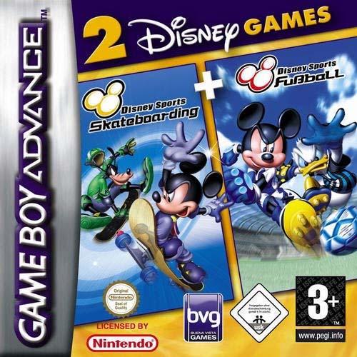 دانلود بازی ورزشی دیزنی Disney Sportpack برای gba