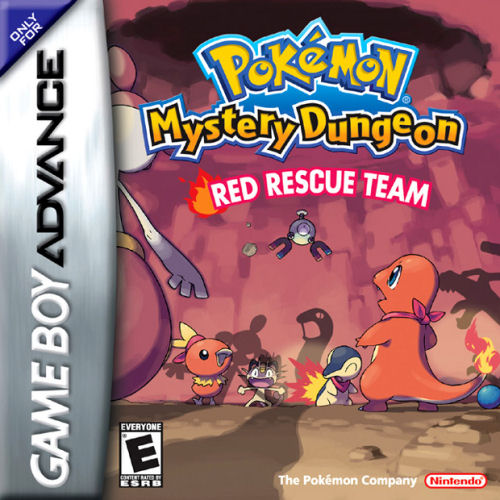 Pokemon Mystery Dungeon - Red Rescue Team (U)(RDG) Box Art